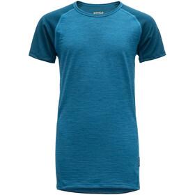 Devold Breeze T-Shirt Juniors blue